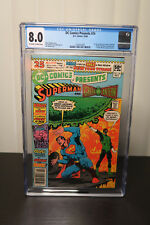 DC Comics Present #26 1st Appearance of TEEN TITANS CGC 8.0 Comics