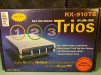 VIntage Romtec Trios II plus multi drive Selector Switch in box RX-910T6