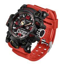 New Sanda Men Digital Wrist Watches LED Military Outdoor Sport Waterproof Watch