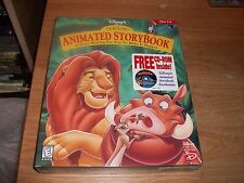 Disney's The Lion King Animated Storybook (CD-ROM) Kids Ages 3-8 NEW IN BOX