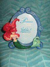 NEW Disney Parks The Little Mermaid Ariel Picture Frame Oval 4x6 or 5x7 Souvenir