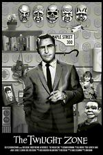 The Twilight Zone Print Poster Mike McGee