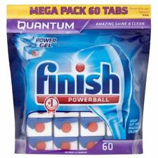 Finish Quantum Powerball Dishwasher Tablets (60) - Pack of 6