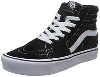 VANS chaussures U Sk8-Hi Lite (Daim/Toile) black / blanc baskets unisexe