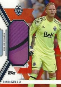 2017 Topps Major League Soccer 'Jumbo Relic ' Orange Parallel Jersey Patch Card