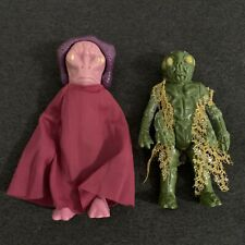 Vintage 1978 Battlestar Galactica Ovion and Imperious Leader Action Figures Mint