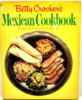Betty Crocker Mexican Cookbook Recipe Book Hardcover Vintage