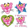 PINK PANTHER * Machine Applique Embroidery Patterns ** 4 Designs, 4 sizes