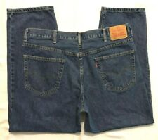MENS 40 X 30 LEVI'S 550 BLUE JEANS - (550 = RELAXED FIT)
