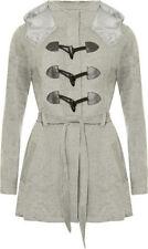 Abrigos y chaquetas de mujer de color principal gris 100% algodón