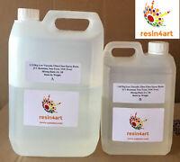 Ultra-Trasparente Lucidi Resina Epossidica Per Cucina Piani di Lavoro: 5kg Kit