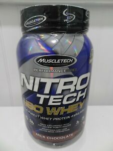 Muscletech   Nitro-Tech  100% ISO Whey Protein Isolate  1.81 lb   29 Servings