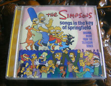 CD - The Simpsons - Songs in the key of Springfield - Music