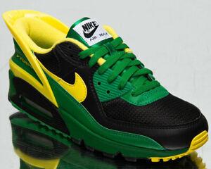Nike Air Max 90 FlyEase Oregon Duks Men's Black Yellow Lifestyle Sneakers Shoes