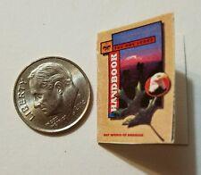 Miniature book Boy Scouts Handbook  Action Figure Gi Joes Barbie 1/12 Scale R