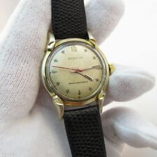 "BENRUS,1940's,17j Manual Wind, ""Fancy Lug Classic"",MENS WATCH,301,L@@K!"
