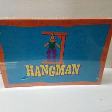 Hangman Board Game MB Milton Bradley 1999 New Sealed
