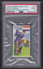 Dickson Orde - Sports Of The Countries 1962 - Golf - PSA 9 MINT