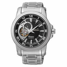 Seiko Stainless Steel Strap Watches with Sapphire Crystal