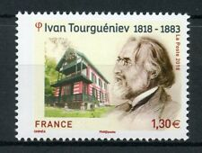 France 2018 MNH Ivan Turgenev 1v Set Writers Literature Architecture Stamps