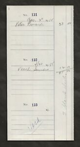 1955 MARILYN MONROE ORIGINAL CHECK REGISTRY PAGE FROM HER ESTATE