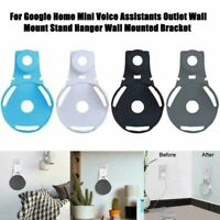 Outlet Wall Mount Stand Bracket Hanger Holder for Google Home Mini Voice Speaker