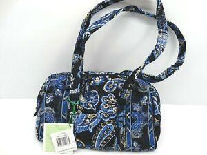 Vera Bradley Duffle Windsor Navy Handbag NWT