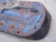 1968 humped back seat pan w/chrome vintage BSA 650 rare