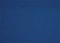 Baumwollstoff Punkte Tupfen blau weiß Webware