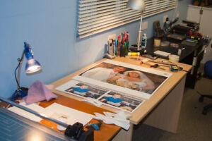 Custom Photo Printing Service - multiple sizes, pro-quality prints