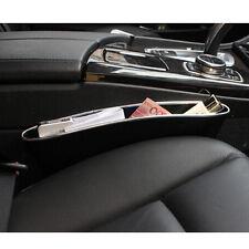 1xCatch Catcher Box Caddy PU Leather car Seat Slit Pocket Storage Organizer