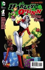 HARLEY QUINN HOLIDAY SPECIAL #1 MERRY CHRISTMAS VARIANT NEW 52 CONNER PALMIOTTI