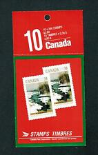 1989 CARNET TIMBRES CANADA BOOKLET  STAMPS #  1256 **  BK107  NOEL X-MAS