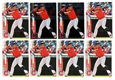 (20) YU CHANG 2020 Topps Series 2 & Topps Chrome ROOKIE CARD LOT INDIANS RC X20