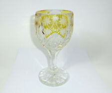 XL Großes Pokal um 1845 Friedrich Egermann Glas