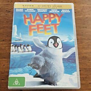 Happy Feet DVD R4 Like New! – FREE POST