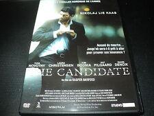 "DVD ""THE CANDIDATE"" Nikolaj LIE KAAS / film Danois de Kasper BARFOED"