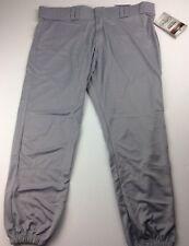 Louisville Slugger Grey Mens Size XXL Game Knickers Baseball Softball Pants