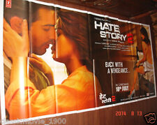 HATE STORY 2 GIANT  52 X 106 SIX SHEET BOLLYWOOD  POSTER