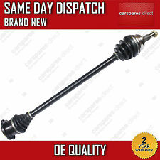 SKODA OCTAVIA 1.8T RS DRIVESHAFT & CV JOINT OFF/SIDE 2001>2004 *NEW* 1J0407452GX