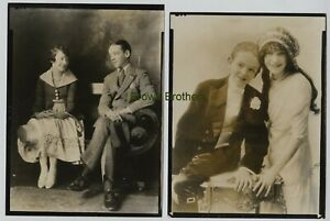 1900-20s Broadway Dancers & Singers Fred & Adele Astaire Photos (2pc) #1 BB