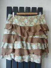 Jigsaw Knee Length Silk Casual Skirts for Women