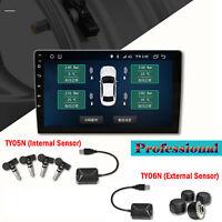 USB-Reifendruckkontrollgerät+TPMS-externe Sensoren Kit für Android-Navigation