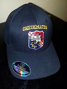 VFA-211 CHECKMATES RICHARDSON FLEX FIT BALL CAP IN THE SIZE XS/SM