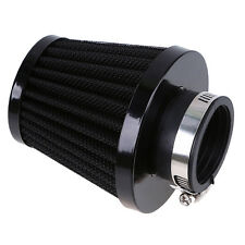 Motorcycle Black 39mm Air Intake Cold Filter Cleaner for Cafe Racer Honda Quad