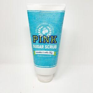 Vtg Victorias Secret VS PINK Go Natural Sugar Scrub 8.4oz Rare Discontinued Lily