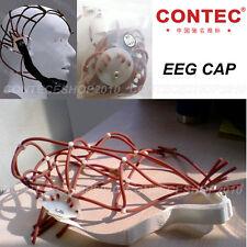 10-20 Adjustable Rubber EEG cap for CONTEC EEG Machine/Monitor  KT88 Series