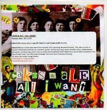 (AB763) Cakes & Ale, All I Want - DJ CD