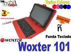 """FUNDA CON TECLADO TABLET Woxter SX 200 220 10.1"""" KEYBOARD 10 PULGADAS COLORES"""