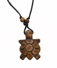Collier pendentif tortue artisanat en corne de yak ethnique Tibet  A53 2737